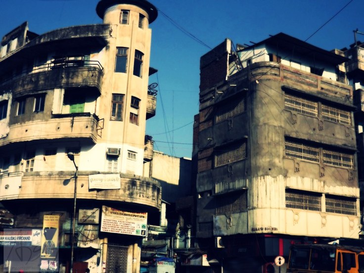 Buildings of Old Ahmedabad