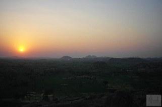 Hampi-Sunset