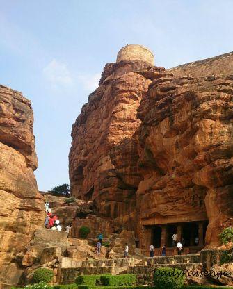 Badami temple complex