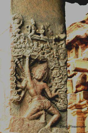 Badami temples art