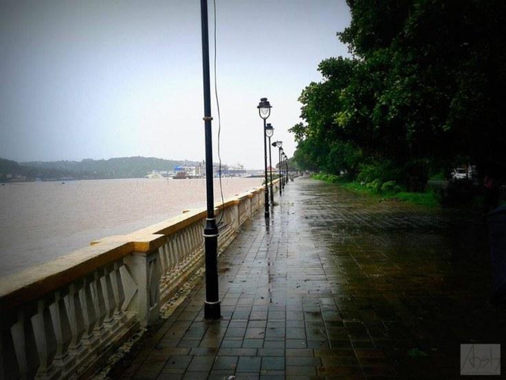 Panjim rain