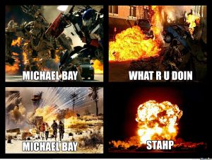 Michael Bay meme