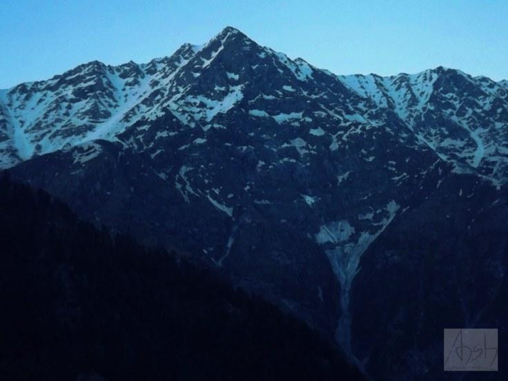 Dhauladhar mountains Mecleodganj