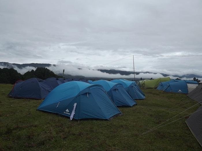 Ziro festival of music camping