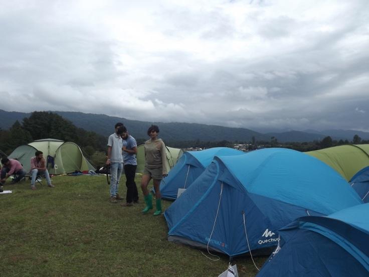 Tent in Ziro