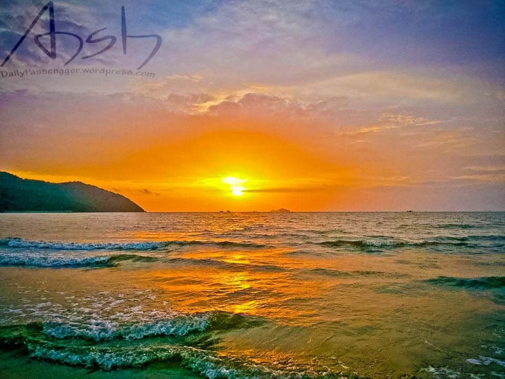 Karwar beach sunset
