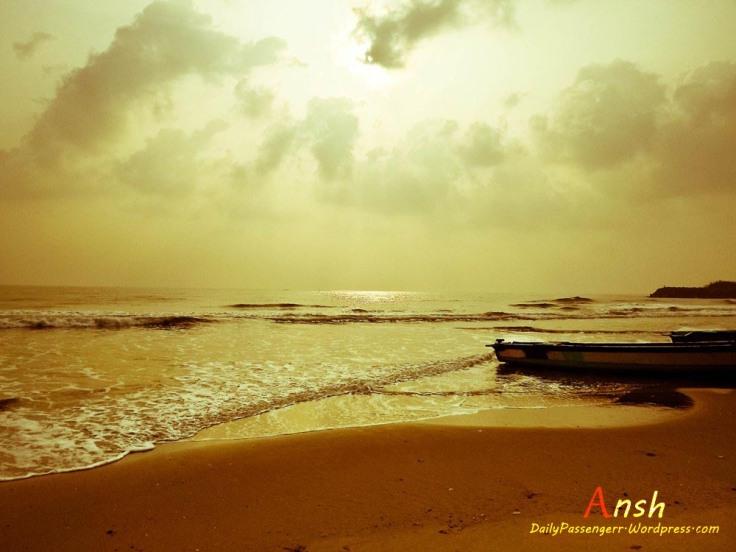 Mahabalipuram sea shore