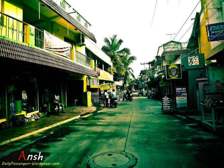 Street Mahabalipuram
