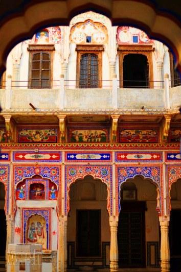 Navalgarh fresco