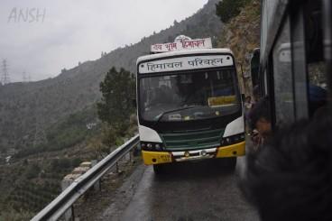 HRTC Travel Kinnaur