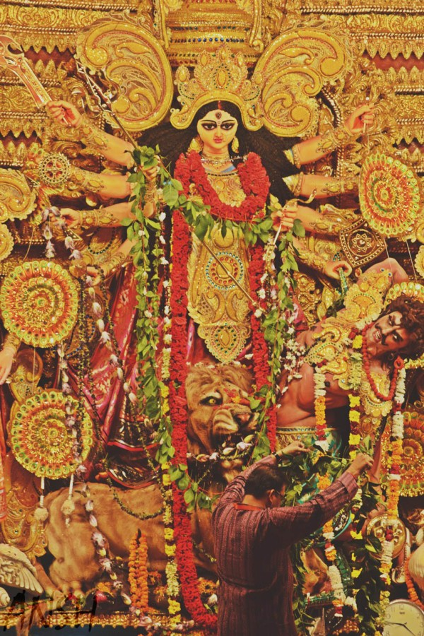 Durga Puja Chittaranjan Park