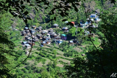 kheerganga-route-villages