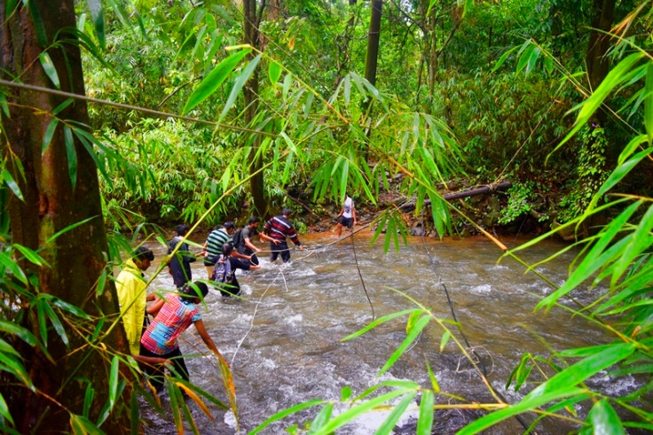 Goa monsoon treking