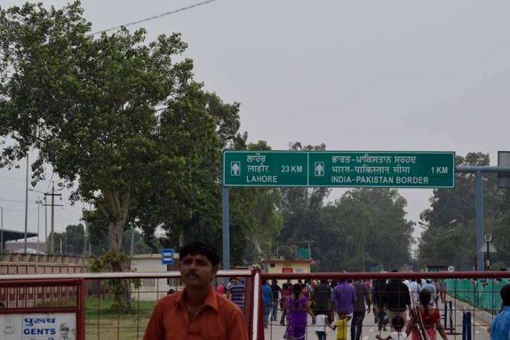 Wagah India Pakistan Border