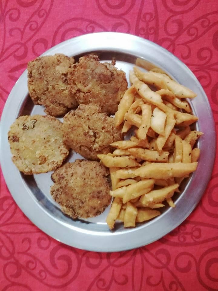 Thekua bihari food