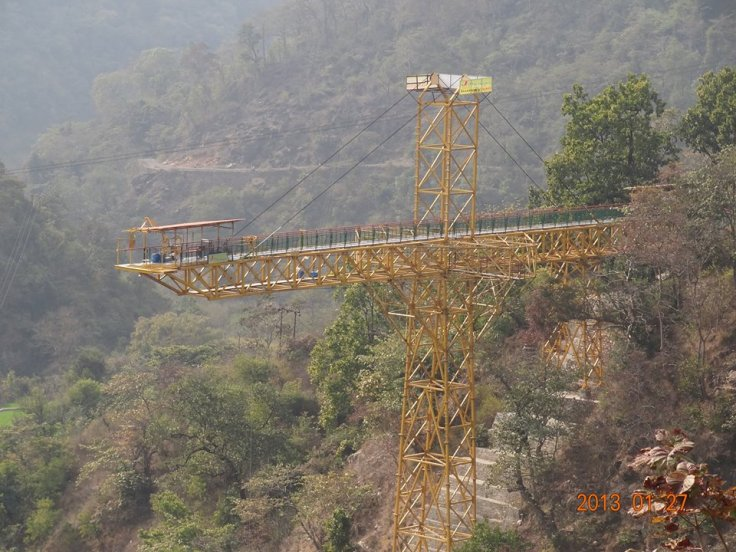 Bungee Jump rishikesh 2