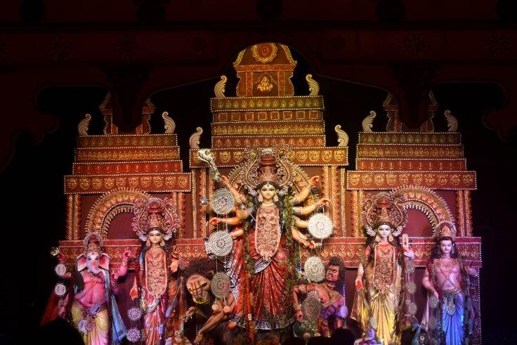 Durga Puja Pandals Chittaranjan Park