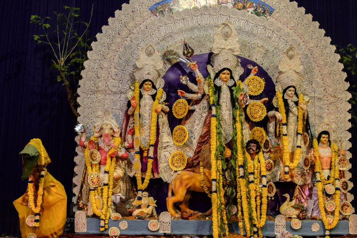 Delhi Durga Puja