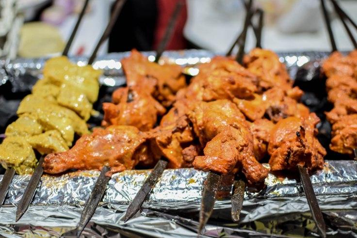 Food walk Chittaranjan Park