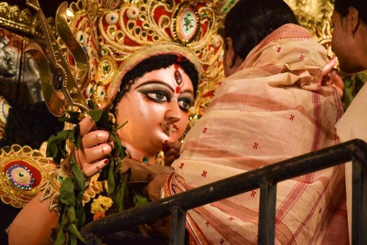 Durga Idol Visarjan Delhi