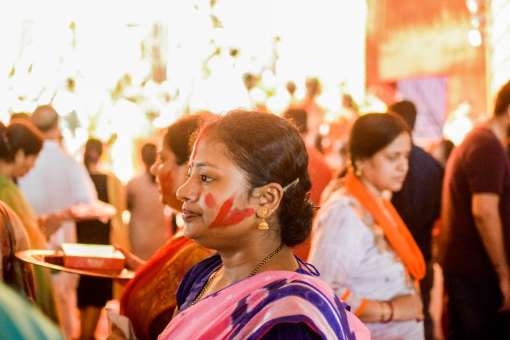 Durga Puja idol immersion