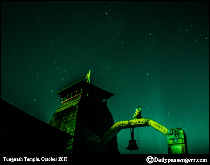 Tungnath Temple star trail