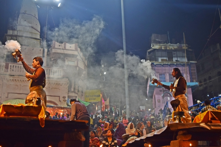 Banaras Ganga Aarti timing