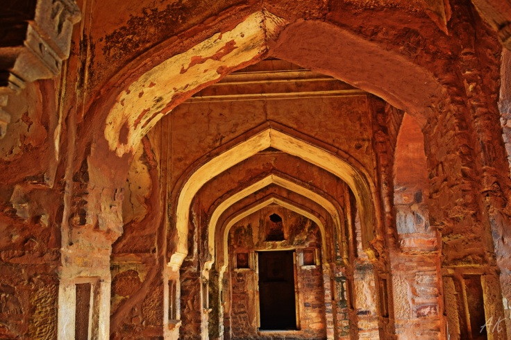 Bhangarh Fort interiors