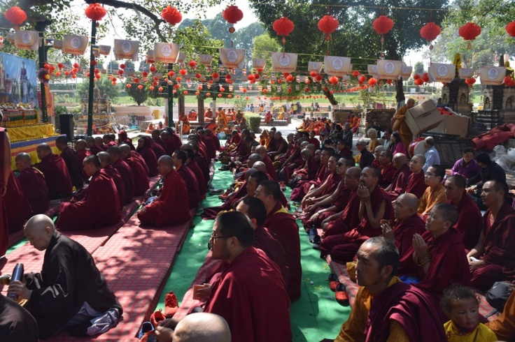 Mahabodhi Temple Monks