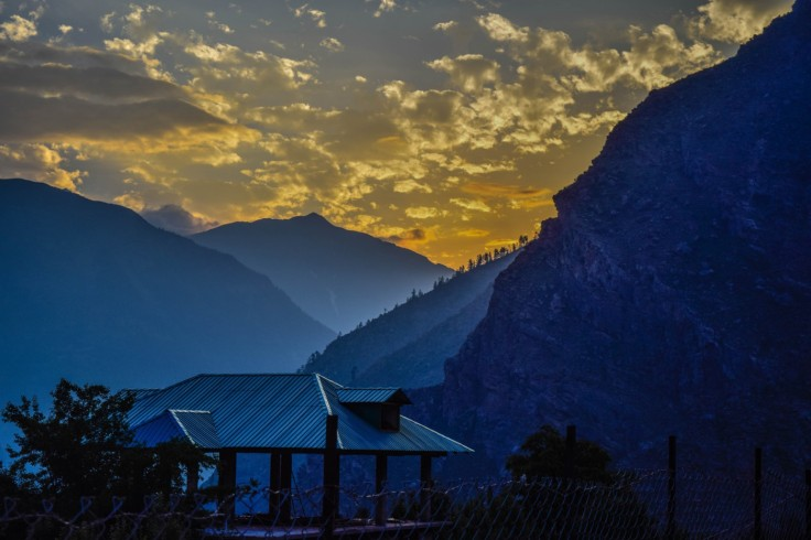 kinnaur sunset