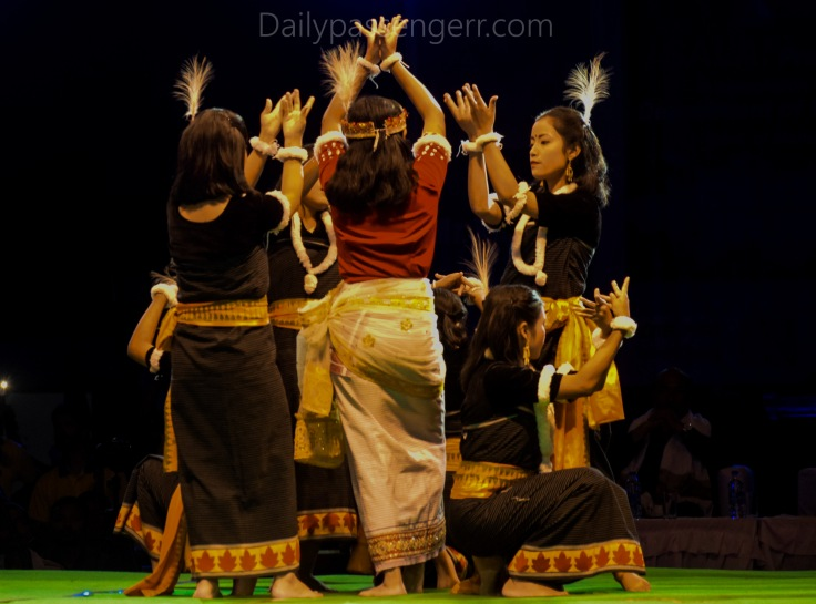 Manipur folk dance and arts