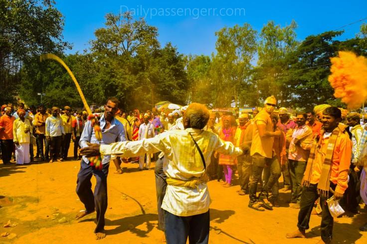 Kolhapur haldi festival