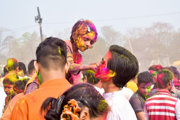 Holi festival Shantiniketan (2)