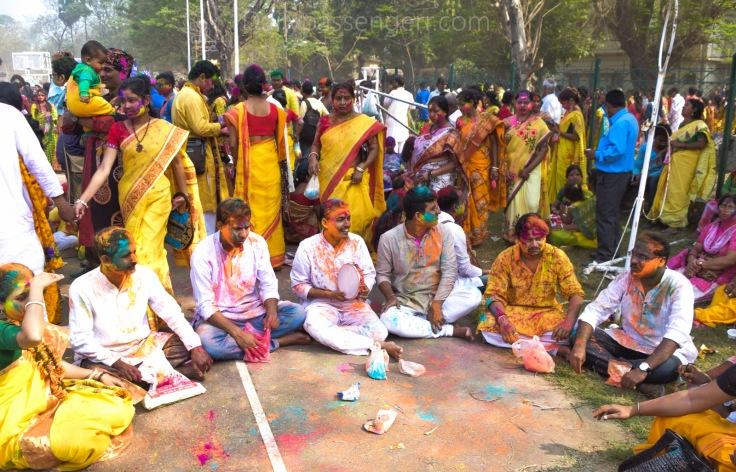Holi festival Shantiniketan (4)