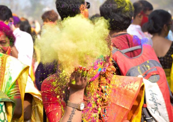 Holi festival WEst Bengal (2)