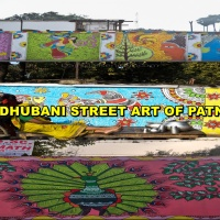 Exploring Madhubani Street Art in Patna