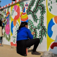 The Madhubani Painters of Ranti and Jitwarpur Village